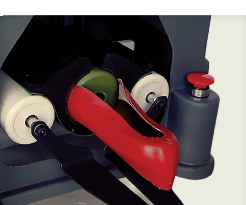 upper assembly shoe machine